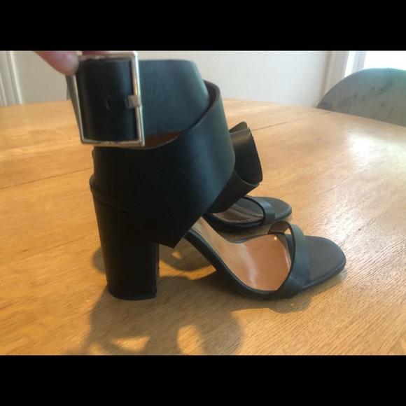 Zara black heels